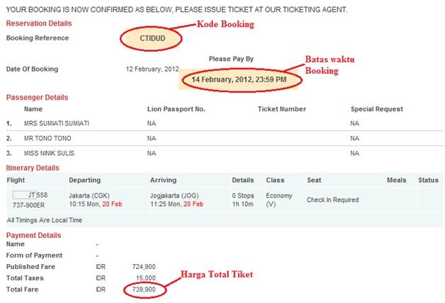 Tutorial Cara Booking Tiket Pesawat | Agen Tiket Online